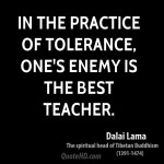 dalai-lama-leader-quote-in-the-practice-of-tolerance-ones-enemy-is