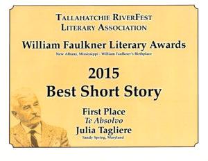Faulkner Award-Julia